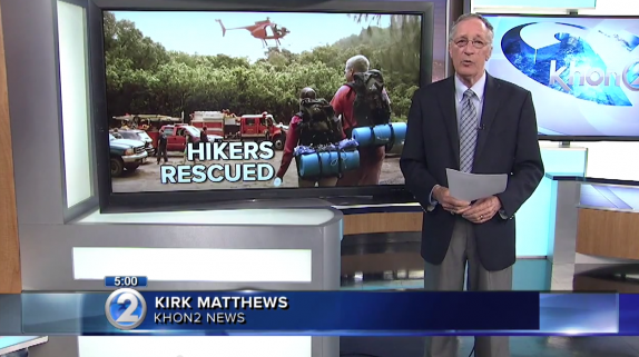 Photo of 121 hikers rescued from Hanakapiai, Kalalau Trail on Kauai (Video)