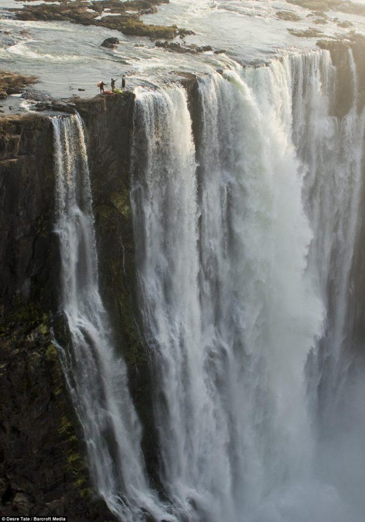 Kayaking Victoria Falls in Zimbabwe