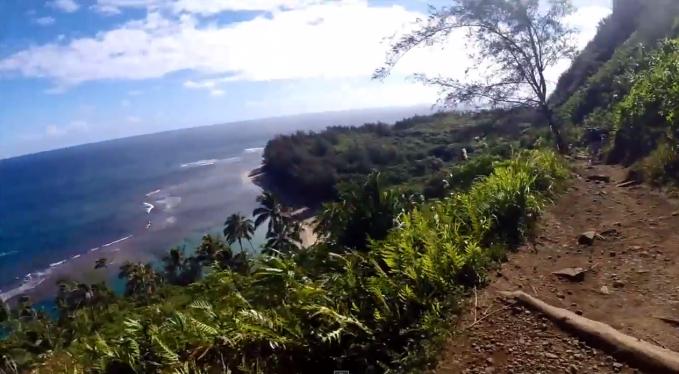 Photo of Trail Run Kalalau Trail to Hanakapiai Falls