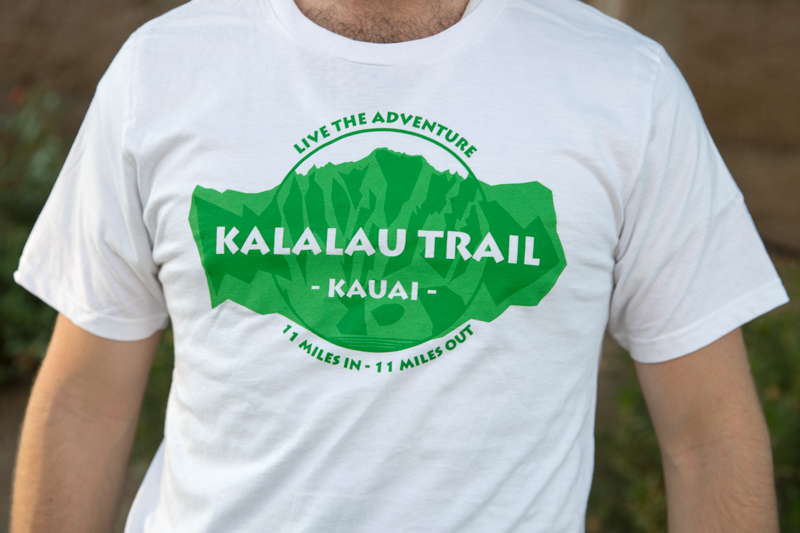 best loved another chance detailed images Kalalau Trail T-Shirt, Napali Design