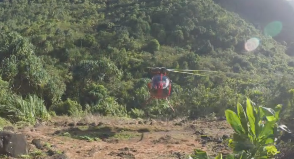 Photo of 62 People airlifted from Kalalau on Christmas Eve