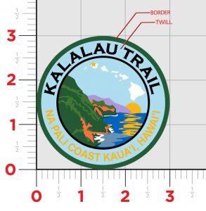 Kalalau Trail Patch Design