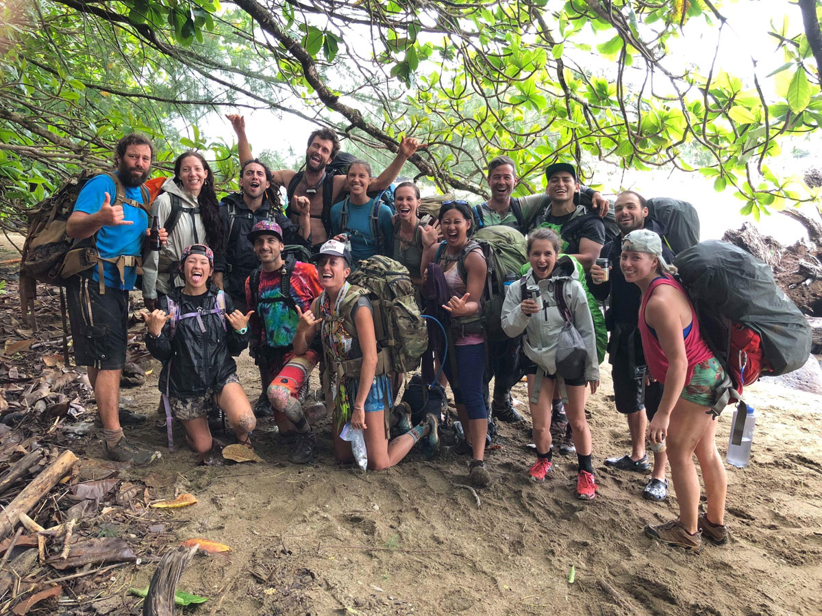 Photo of Story of 27 backpackers that survived Kalalau during the storm of a century